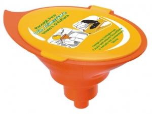 Kapljica - lijak za zbiranje odpadnega jedilnega olja