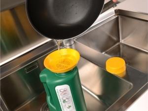 Ecohouse small - posodica za zbiranje odpadnega jedilnega olja