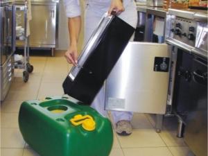Ecowork - posoda za zbiranje odpadnega jedilnega olja