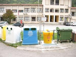 Postavitev Olivie 200L, Kanal (ekološki otok pri šoli)
